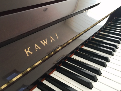 Jual piano Kawai Console Model ( Walnut )